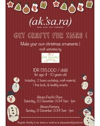 Aksara - Get Crafty for Xmas