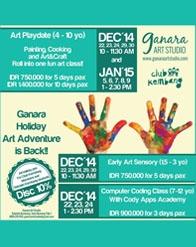 Club Kembang - Ganara Holiday Art Adventure