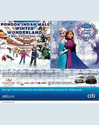 Pondok Indah Mall Winter Wonderland