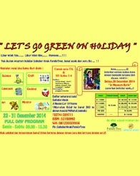 Let's Go Green on Holiday