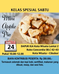 Kekoci - Mini Apple Pie
