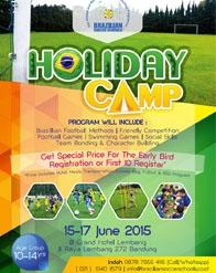 Brazilian Soccer School Holiday Camp 2015