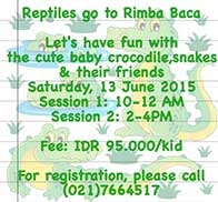 Reptiles Goes to Rimba Baca