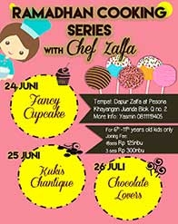 Ramadhan Cooking Series with Chef Zalfa