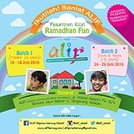 #RamadhanProgram: Ramadhan Fun with Alif