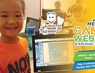 Kelas Coding Membuat Website Games dan Aplikasi Komputer