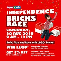 Independence Bricks Race