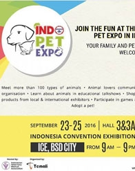 Indo Pet Expo 2016