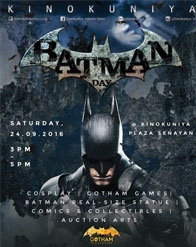 Kinokuniya Batman Day