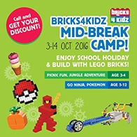 Bricks 4 Kidz Thematic Camp