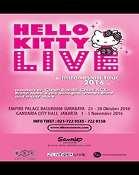 Hello Kitty Live Indoensian Tour 2016