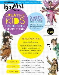 Creative Kids Fashion Show Competition bersama Erlangga for Kids dan 2Madison