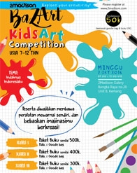 Kids Art Competition Bersama Erlangga for Kids dan 2Madison