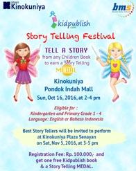 Kidpublish - Story Telling Festival 2016