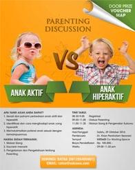 Parenting Discussion Anak Aktif vs Anak Hiperaktif