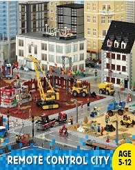 Lego Remote City Holiday Camp