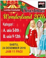 Lomba Kostum Fashion Show Natal