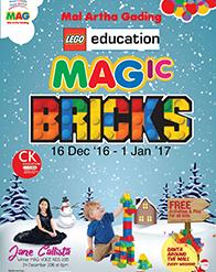 MAGic BRICKS LEGO EDUCATION at Mal Artha Gading