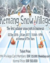 Kemang Snow Village