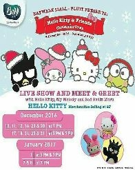 """""""Hello Kitty & Friends in Christmas Town"""" at Baywalk Mall - Pluit"""