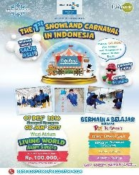 Snowland Carnaval at Living World Alam Sutera