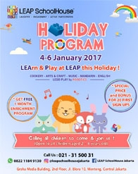 LEAP SchoolHouse Holiday Programme