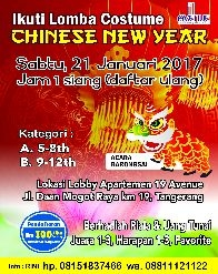 Lomba Costume Chinese New Year
