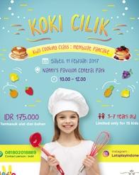 """Koki Cilik"" bersama Nanny's Pavillon"