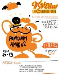 KELAS KREATIF PANTOMIM ANAK #2