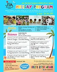 JIA Holiday Program