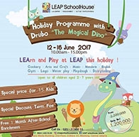 "Holiday Programme with Drubo ""The Magical Dino"""