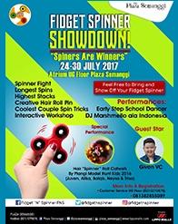 Fidget Spinners Showdown