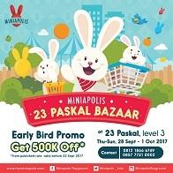 Bazaar Miniapolis 23 Paskal