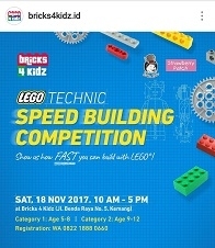 LEGO Technic Speed Building Competition 2017