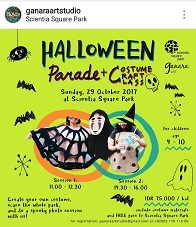 "Halloween Parade ""Costume Craft Class"""