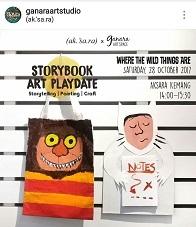 Storybook Art Playdate