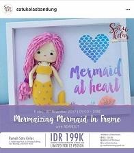 Mermaizing Mermaid On Frame
