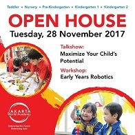 "Workshop ""Early Years Robotics"" with Jakarta World Academy"