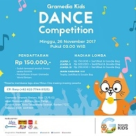 Dance Competition with Gramedia Kids