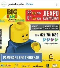 Pameran Lego Terbesar with Big Bang Jakarta 2017