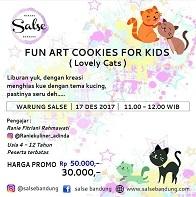 Fun Art Cookies For Kids