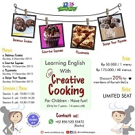 Learning English with Creative Cooking