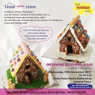 Decorating 3D Cookies House