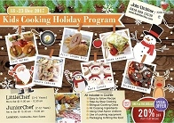 Kids Cooking Holiday Program
