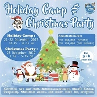 Holiday Camp & Christmas Party