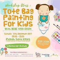 Totebag Painting For Kids