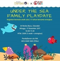 Under The Sea Family Playdate