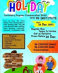 Consistency Program (Communication Skills) with PR Institute