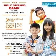 Public Speaking Camp