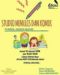 Workshop Studio Menulis dan Komik